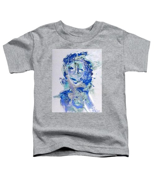 She Dreams In Blue Toddler T-Shirt