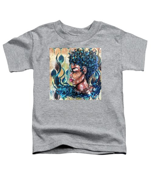 She Was A Cool Flame Toddler T-Shirt
