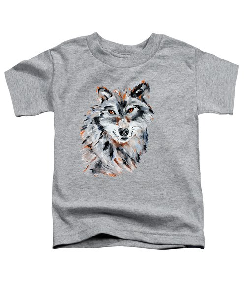 She Wolf - Animal Art By Valentina Miletic Toddler T-Shirt