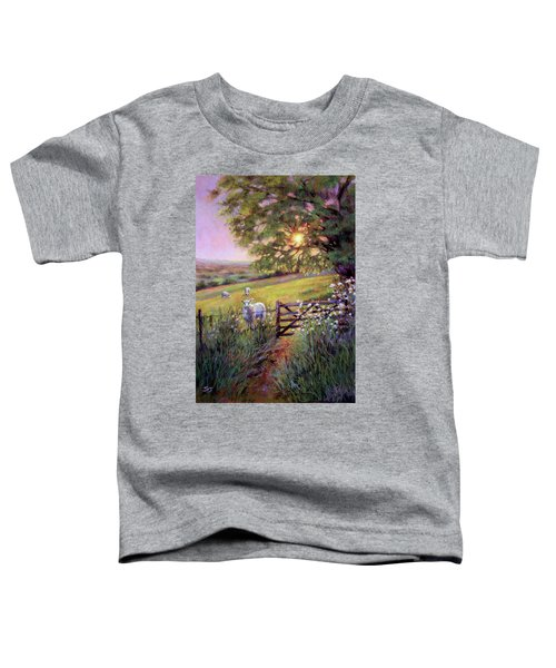 Sheep At Sunset Toddler T-Shirt