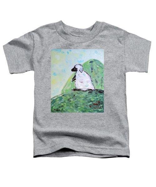 Sheep On A Hill Toddler T-Shirt