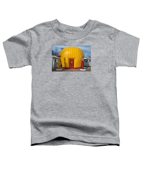Shell Gas Station Toddler T-Shirt