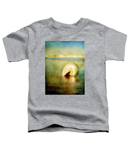 Shell In Sand Toddler T-Shirt