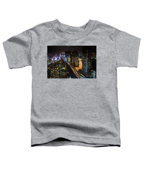 Shiodome Skyline Tokyo Toddler T-Shirt