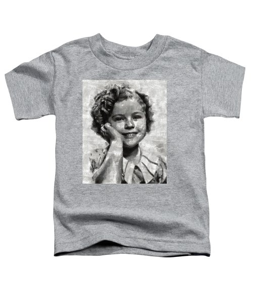 Shirley Temple By Mary Bassett Toddler T-Shirt