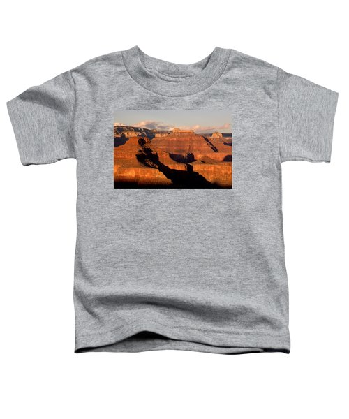 Shiva Temple  At Sunset Grand Canyon National Park Toddler T-Shirt