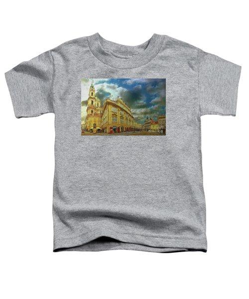 Shooting Round The Corner - Prague Toddler T-Shirt