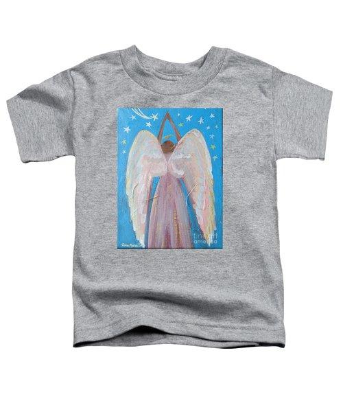 Shooting Star Angel Toddler T-Shirt