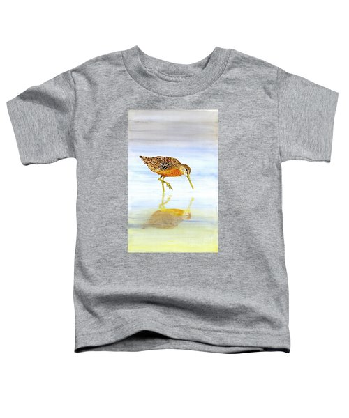 Short-billed Dowitcher Toddler T-Shirt
