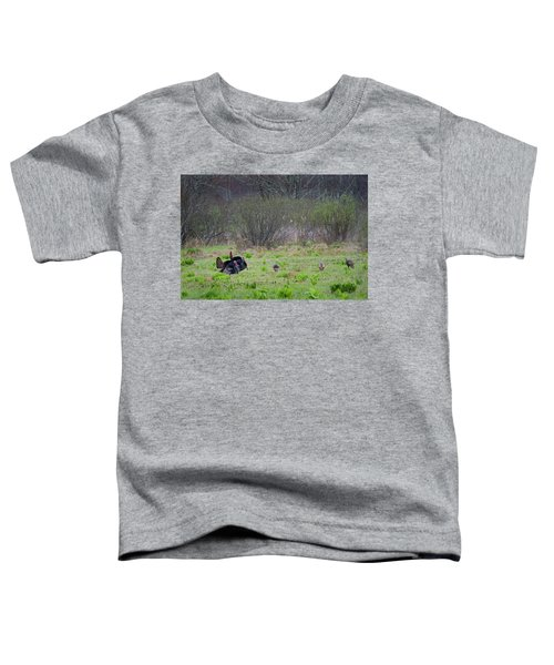 Toddler T-Shirt featuring the photograph Showing Off by Bill Wakeley