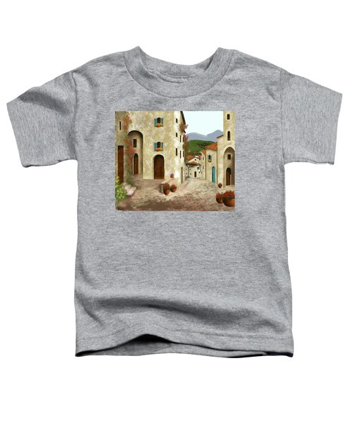 side streets of Tuscany Toddler T-Shirt