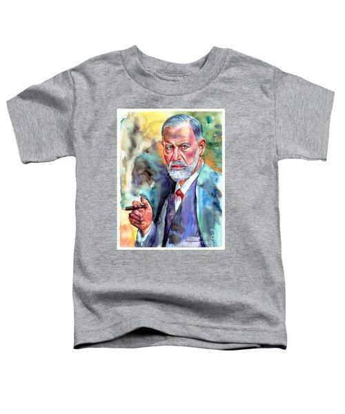 Sigmund Freud Painting Toddler T-Shirt