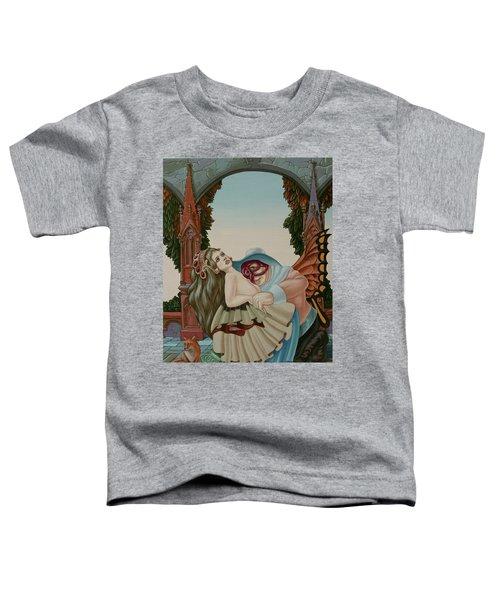 Sigmund Freud With A Fox Toddler T-Shirt