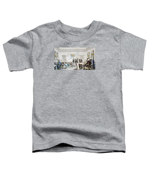 Signing The Declaration Of Independence Toddler T-Shirt