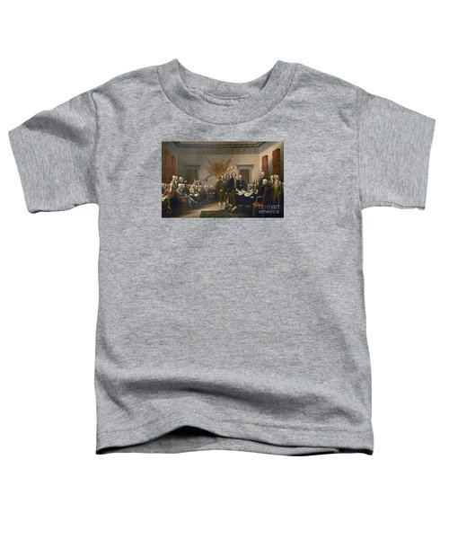 Signing The Declaration Of Independence, July 4th, 1776 Toddler T-Shirt