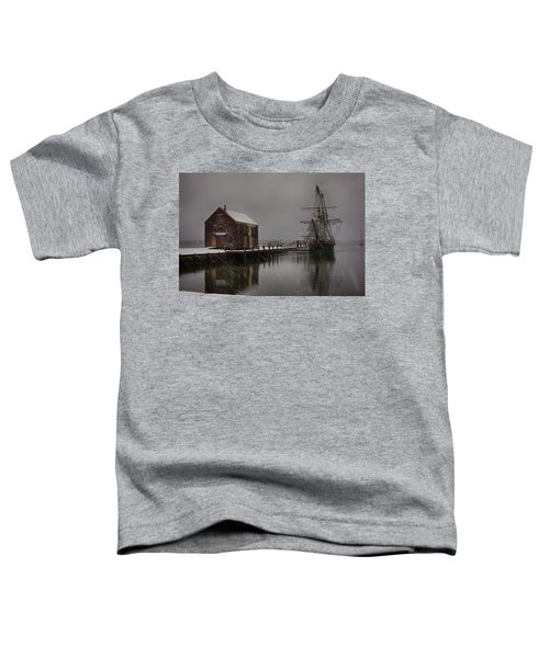 Silently The Snow Falls. Toddler T-Shirt