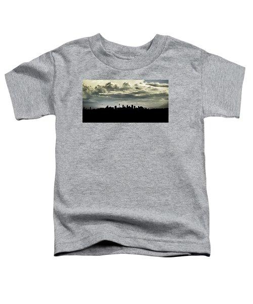 Silhouette Of Sydney Toddler T-Shirt