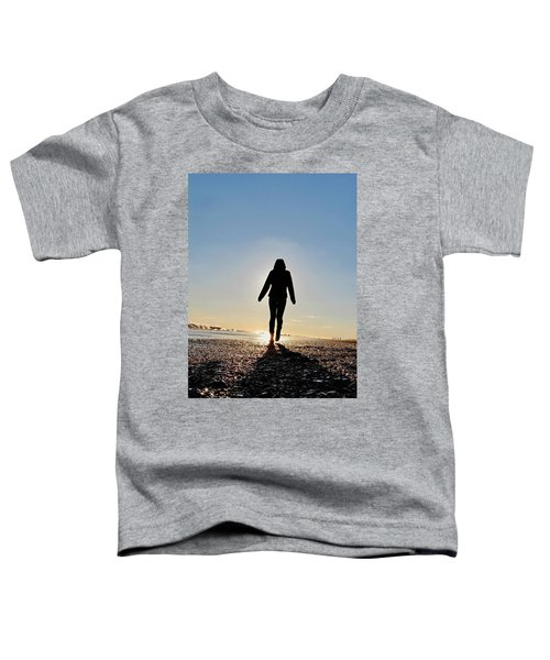 Sillhouette At Sea Toddler T-Shirt
