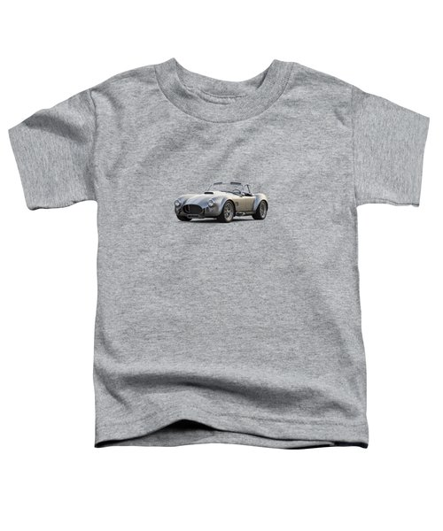 Silver Ac Cobra Toddler T-Shirt by Douglas Pittman