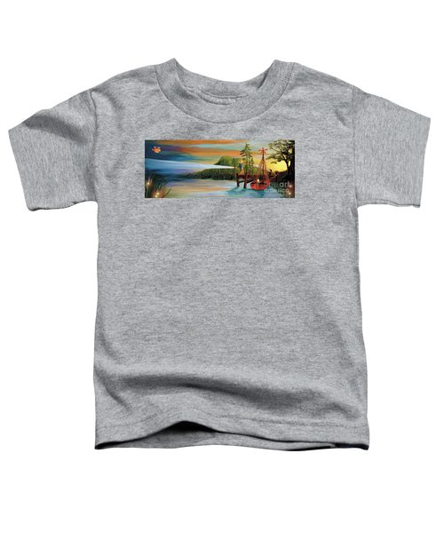 Silver Lake Toddler T-Shirt
