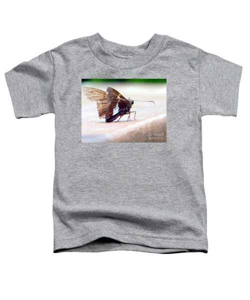 Silver Spotted Skipper Butterfly Toddler T-Shirt