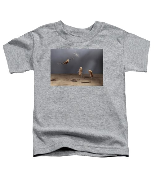 Simple Things - Flying Toddler T-Shirt