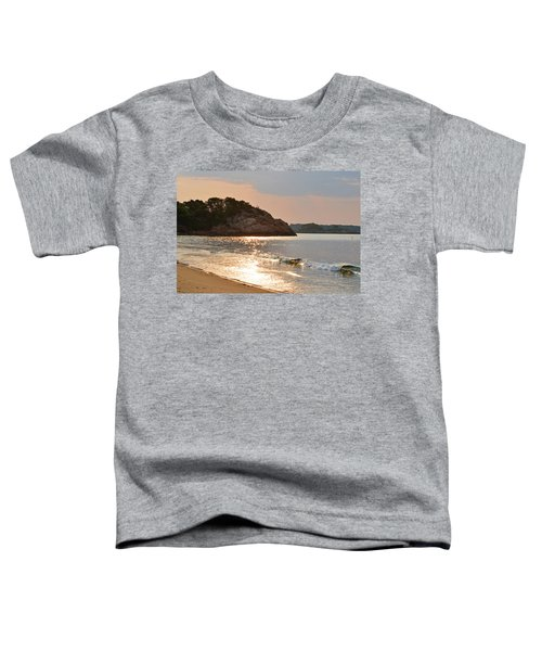 Singing Beach Silver Waves Manchester By The Sea Ma Toddler T-Shirt
