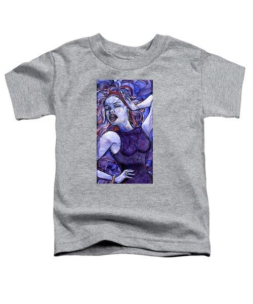 Singing Lady- Jazz Toddler T-Shirt