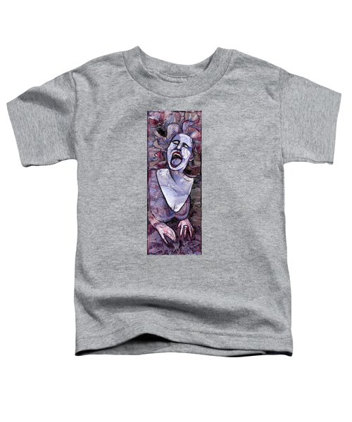Singing Lady-rock And Roll Toddler T-Shirt