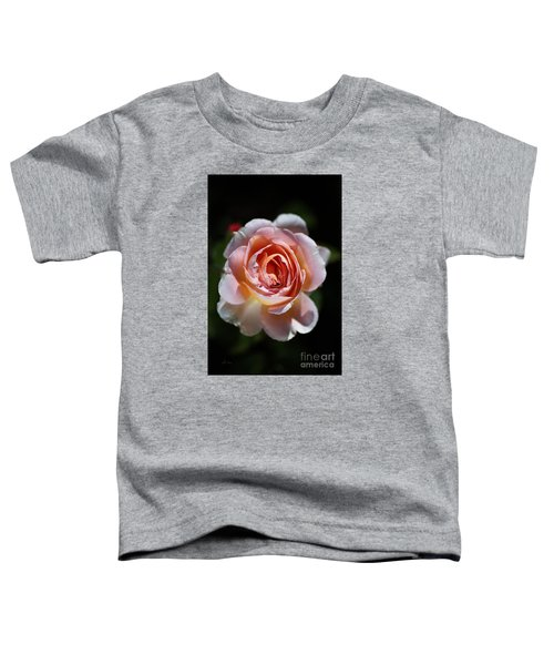 Single Romantic Rose  Toddler T-Shirt