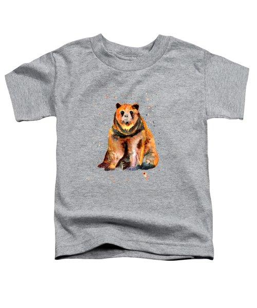 Sitting Bear Toddler T-Shirt