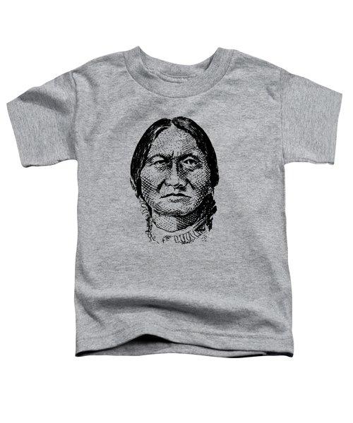 Sitting Bull Graphic Toddler T-Shirt