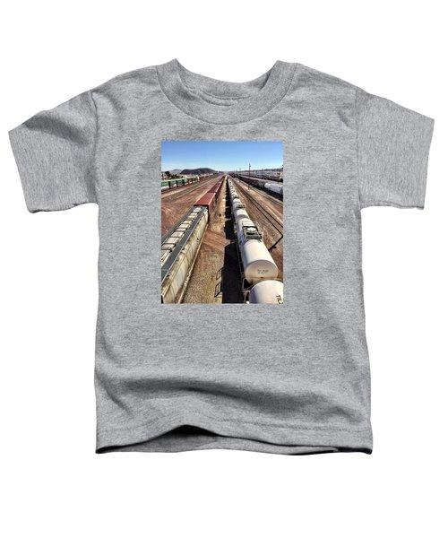Six Trains Toddler T-Shirt