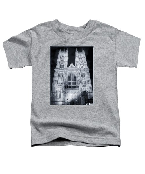 Westminster Abbey Night Toddler T-Shirt