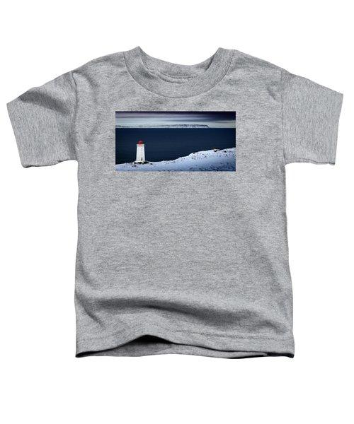 Skardsviti Lighthouse, Iceland Toddler T-Shirt