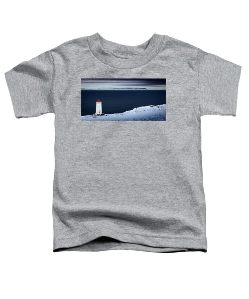 Skardsviti Lighthouse, Iceland Toddler T-Shirt