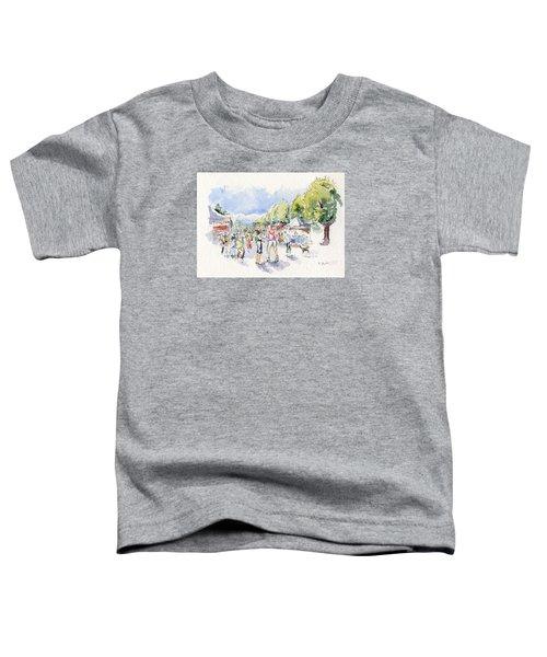 Sketch Of Farmer's Market Toddler T-Shirt