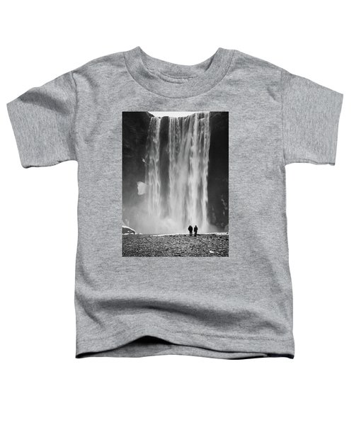 Skogafoss Toddler T-Shirt