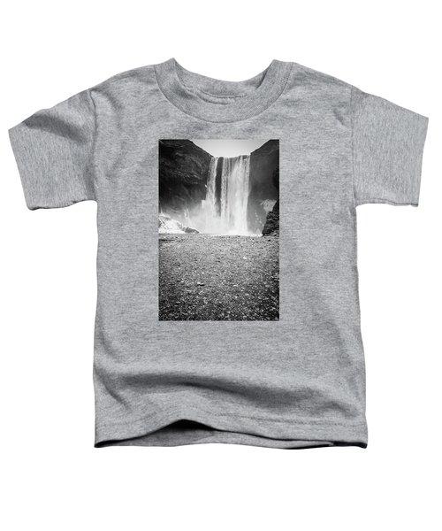 Skogafoss In Winter Toddler T-Shirt