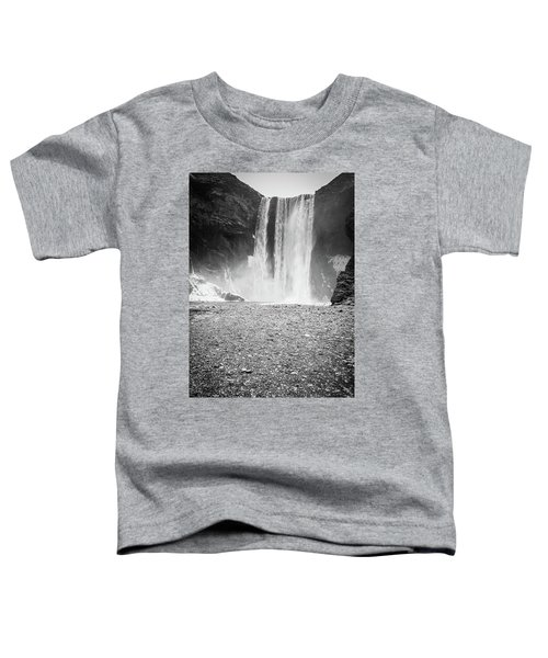 Skogafoss In Winter Toddler T-Shirt