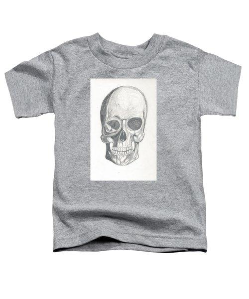 Skull Study 2 Toddler T-Shirt