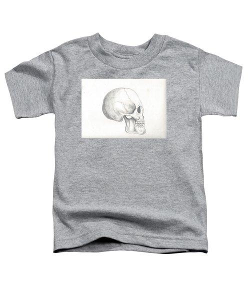 Skull Study Toddler T-Shirt