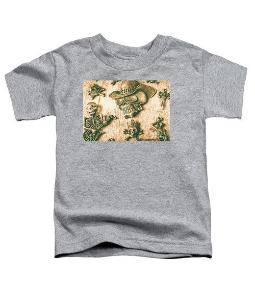 Skulls And Pieces Toddler T-Shirt