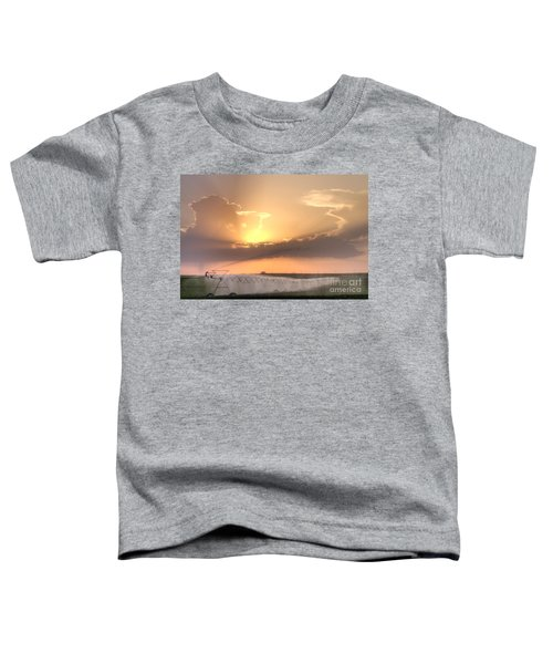 Sky And Water Toddler T-Shirt