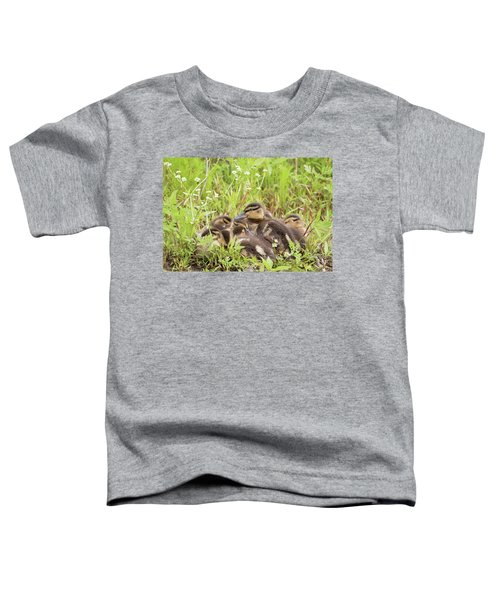 Sleepy Ducklings Toddler T-Shirt