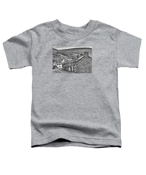 Sleepy Welsh Village Toddler T-Shirt