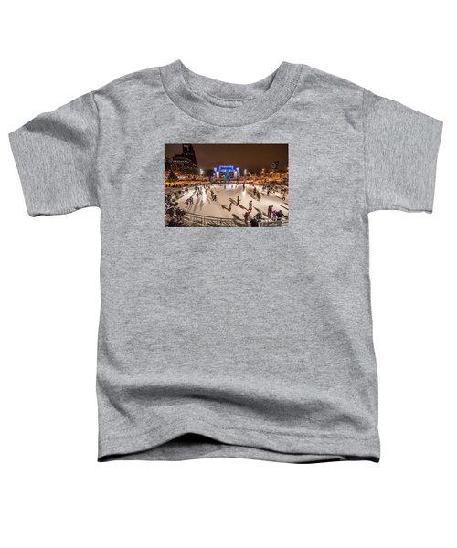 Slice Of Ice Toddler T-Shirt by Randy Scherkenbach