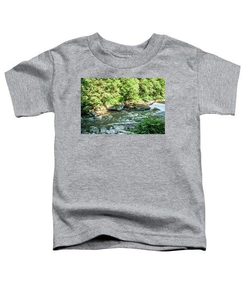 Slippery Rock Gorge - 1898 Toddler T-Shirt