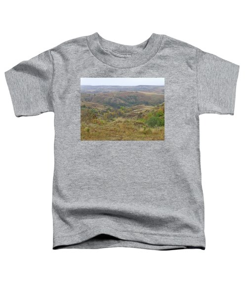 Slope County In The Rain Toddler T-Shirt