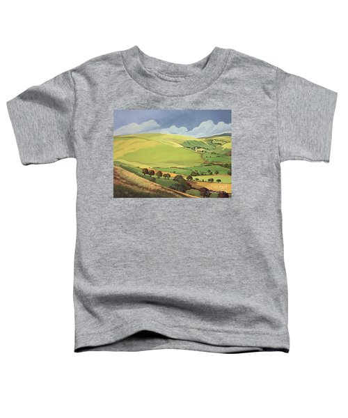 Small Green Valley Toddler T-Shirt